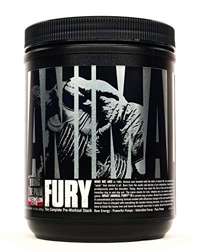 Universal Nutrition Animal Fury Pre-Workout Booster Trainingsbooster 320g (Watermelon - Wassermelone)