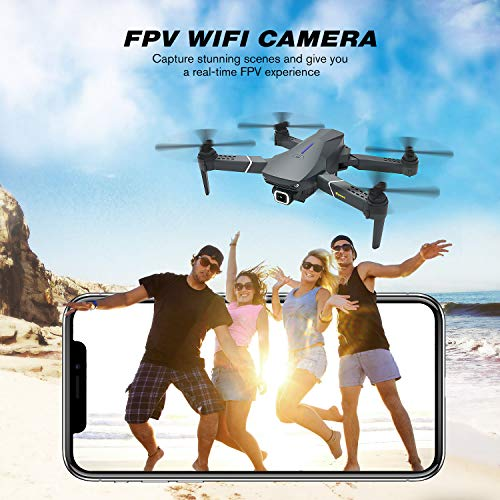 EACHINE-E520S-Drone-with-Camera-for-Adults-Drone-4K-Camera-Drone-GPS-Return-Home-5G-WIFI-FPV-250m-FPV-Distance-Drone-Long-Flight-Time-16-Minutes-Drone-Foldable-2-Batteries-with-Carrying-Case
