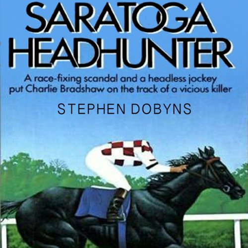Saratoga Headhunter audiobook cover art