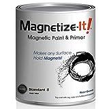 Magnetize-It! Magnetic Paint & Primer (Water Based) - Standard'S' Yield 16oz (MISTD-1998)
