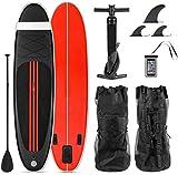 DIMPLEYA Tabla De Surf Inflable Up Paddle Consejo Sup Kayak Paddle Surf Septiembre 305 * con 76 Cm 15 SOGA De Bomba Mochila, Bolsa Impermeable Tablas de Surf