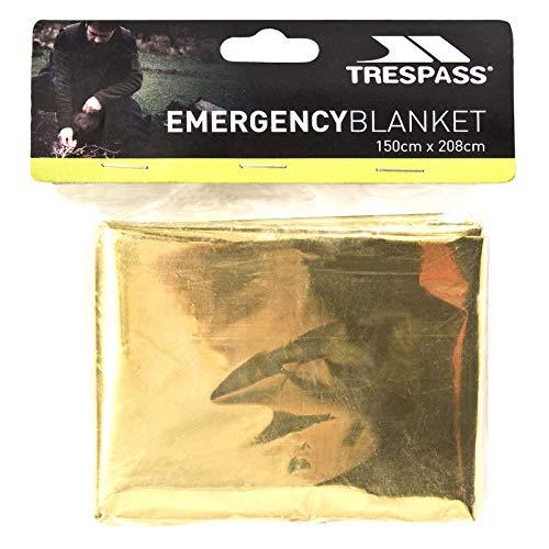 Trespass Foil X, Manta de Emergencia Unisex, 150 x 208 cm, D