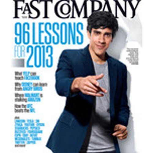 Audible Fast Company, December 2012 audiobook cover art