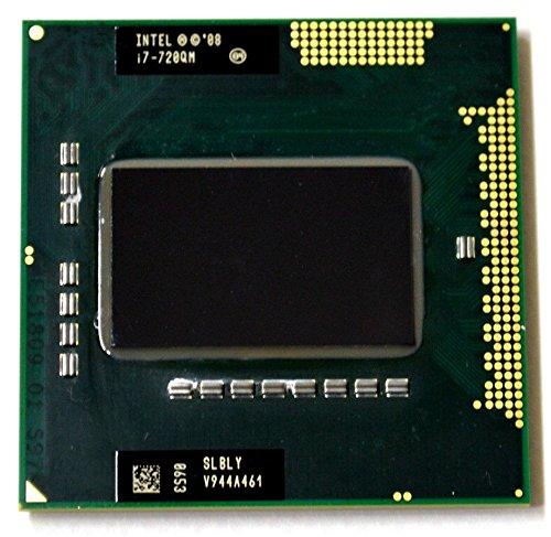 Intel Core i7-720QM SLBLY 1.6GHz 6MB Quad-core Mobile CPU Processor Socket G1...
