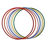 Hoopomania Hula Hoop Rohling, HDPE-20mm, Weiss (milchig), Durchmesser 100cm