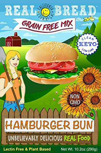 Paleo-Keto Friendly-Grain Free Hamburger Bun Mix 10.2 oz