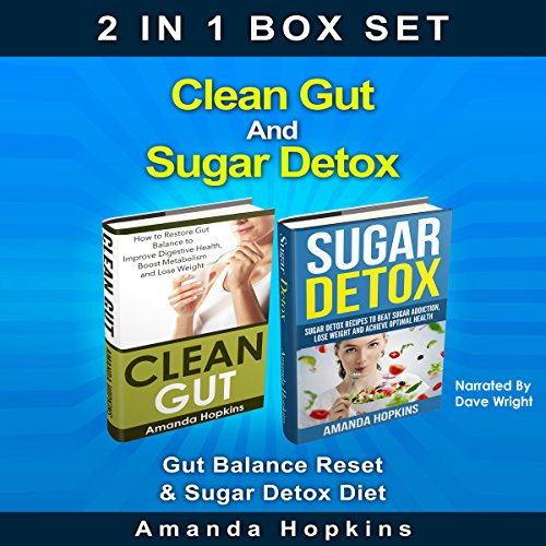Clean Gut and Sugar Detox Set cover art