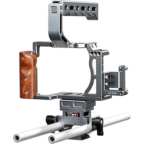 VidPro CA-S7R Aluminum Camera Cage Rig for Sony A7R, A7RII, A7 and A7S Series