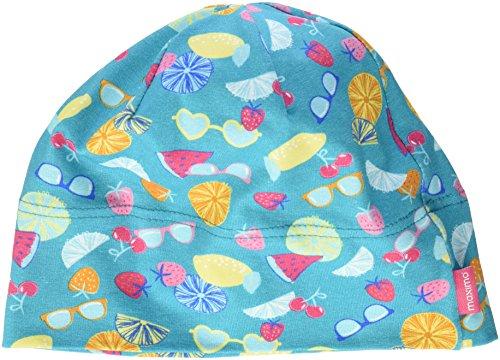 maximo Baby-Mädchen Beanie Mütze, Mehrfarbig (Bluebird/gelb-Früchte 46), 49