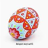 int!rend Acryl Farben Set Künstlerfarben mit Pinsel 14 Acrylfarben x 18 ml für Kinder & Erwachsene, wasserfest für Leinwand, Holz, Ton, Papier - 8