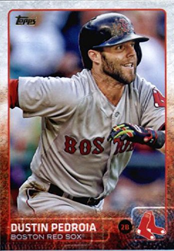 2015 Topps Limited Glossy #75 Dustin Pedroia Baseball Card (Limited to 1000 Made)