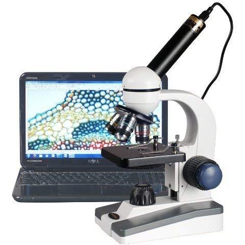 AmScope M150C-E5 40 x 1000 x LED Grueso Fino Student
