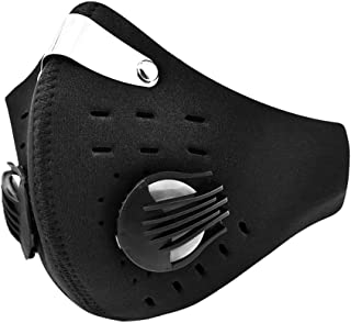 Anti-pollution Bicycle Motorcycle Face Mask Mouth-muffle Dustproof with filter Bike Cycling Equipment Mask
