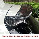 AniFM Spoiler Superiore per Tetto Posteriore in Fibra di Carbonio per BMW F20 Spoiler 2012-2018 1 Serie 116i 120i 118i