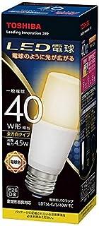 東芝 LED電球 一般電球形 485lm(電球色相当)TOSHIBA T形 全方向タイプ LDT5L-G/S/40W-TC