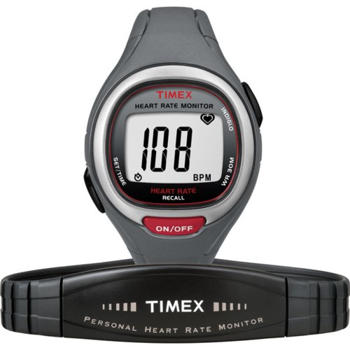 Timex Mid-Size T5K537 Easy Trainer Heart Rate Monitor Watch