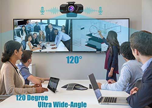 Webcam 1080P Full HD con Micrófono Y cubierta de privacidad,1080P webcame USB Web Camera Con trípode, para Portátil Videollamadas, Conferencias, Juegos, Plug y Play, Cámara web HD de enfoque fijo miniatura