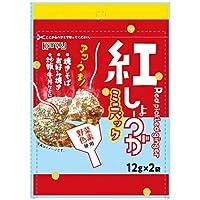 カンピー ミニパック紅しょうが(野菜色素使用) (12g×2袋)×10袋入×(2ケース)