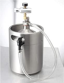 psler Mini Keg Dispenser Kit CO2 Regulator 2L Travel Cap Dispenser System Hose for Draft Beer Growler Keg
