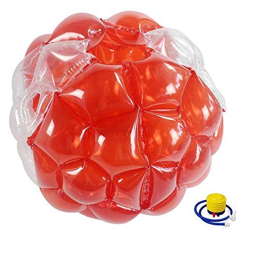 HYE Bola Inflable de la Burbuja para niños Pelota de Parachoques portátil de Bola de Suma de Sumo Gigante Hamster Ball para los Juegos de Adolescentes Reproducción deportiva/90 cm