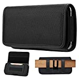 FZXSOGY Universal Horizontal Cell Phone Holster Case with Belt Clip...