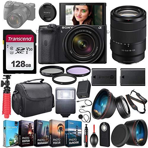 Sony Alpha a6600 Mirrorless Camera UHD 4K 1 Lens...