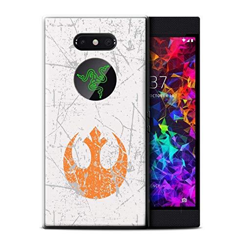 Hülle Für Razer Phone 2 Galaktisches Symbol Kunst Rebellenallianz Inspiriert Design Transparent Dünn Weich Silikon Gel/TPU Schutz Handyhülle Case