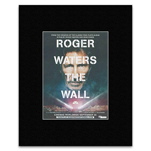 NME Mini-Poster, Motiv: Roger Waters - The Wall vom 29. September 2015, 28 x 21 cm