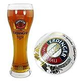 TUFF LUV Original Verre à Bière Erdinger de Marque - Verre Chalice Pinte (570 ML - 20 oz)