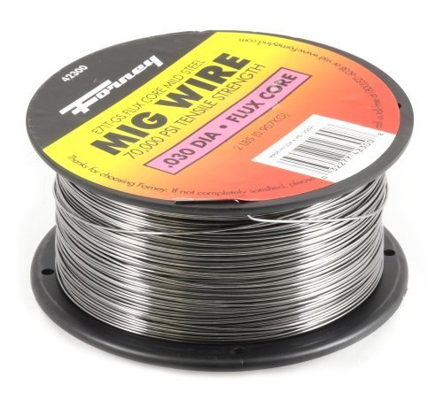 Forney 42300 Flux Core Mig Wire, Mild Steel E71TGS, .030-Diameter, 2-Pound Spool by Forney