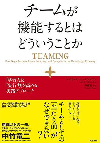 チームが機能するとはどういうことか――「学習力」と「実行力」を高める実践アプローチ