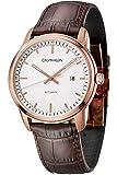 Calvin Klein Reloj Analógico para Hombre de Automático con Correa en Cuero K5S346G6