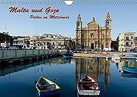 Malta und Gozo, Perlen im Mittelmeer (Wandkalender 2022 DIN A4 quer): Bilder einer Reise nach Malta und Gozo (Monatskalender, 14 Seiten )