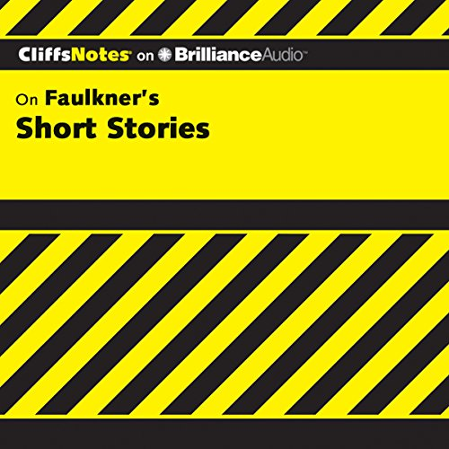 Page de couverture de Faulkner's Short Stories: CliffsNotes