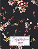 Daily Fitness planner 2021: Pretty Simple Planners 2021 - 2022 Planner Weekly and Monthly For Women