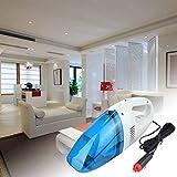 Aspirador de Coche Super Mini Aspirador De Po Portatil/Azul Aspirador De Po Mojado y seco Herramienta de aspiradora de Polvo de Doble Uso de 12V
