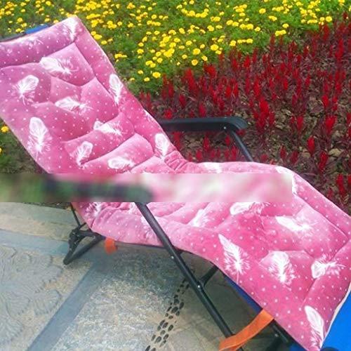 BLSTY Draagbaar opvouwbaar stoelkussen, anti-slip comfort kussen voor schommelstoel, tuinstoel, schommel rugkussen 52x160Cm(20x63Zoll) Ad