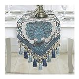 Yuhualiyi123 Multi-Oreille Table Tissu Table Drapeau de thé Table Bunting Lit Queue Drapeau Meuble TV Couverture en Tissu pour la...