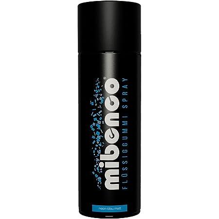 Gummi Dip Sprühfolie Neon Spray 4er Set 4x400 Ml Neon Blau Auto