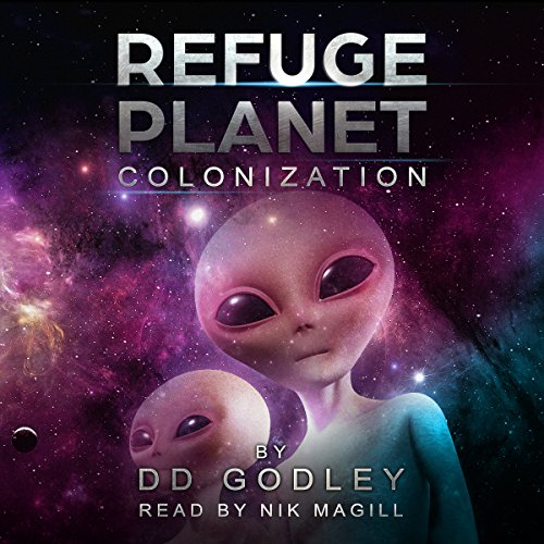 Refuge Planet: Colonization audiobook cover art