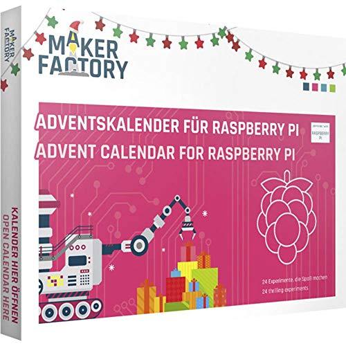 MAKERFACTORY Adventskalender für Raspberry Pi Adventskalender ab 14 Jahre