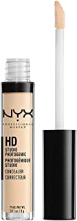 NYX Professional Makeup HD Photogenic Concealer Wand, Alabaster, 0.11 Ounce