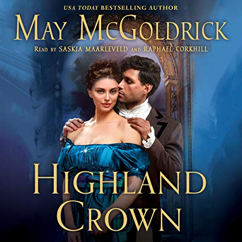 Highland Crown audiobook cover art