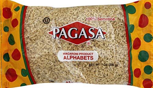 Pagasa Pasta Alphabets, 7 oz