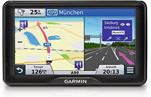 Garmin Camper 760LMT-D EU Navigationsgerät - lebenslange Kartenupdates, Verkehrsfunklizenz, DAB+, Sprachsteuerung, 7 Zoll (17,8cm) Touchscreen