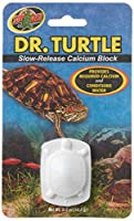 A slow release calcium block that conditions water Providing a calcium supplement to promote healthy shell growth for aquatic turtles For using it, simply place in your turtles water supply Model number: VZD200