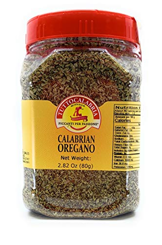Dried Calabrian Oregano | Italian Seasoning| Shaker | 2.82oz (80g) Medium Size Pack by TUTTOCALABRIA