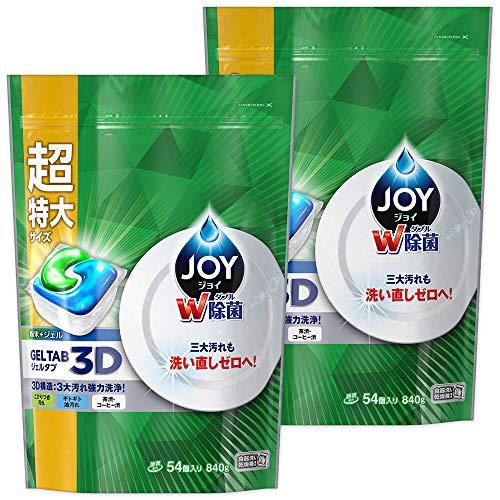 【まとめ買い】ジョイジェルタブ食洗機用洗剤54個入×2個
