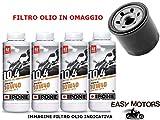 KIT TAGLIANDO OLIO MOTORE IPONE + FILTRO OLIO GILERA GP 800 08/13