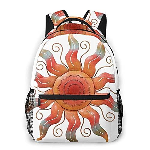 AOOEDM Zaino vintage Southwest Sun Fashion casual borsa da viaggio portatile, zaino per computer portatile, grande capacit?e borsa da scuola resistente, zaino per sport all'aria aperta ?un regalo i